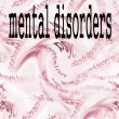 Stock Photo: Concept Mental disorders
