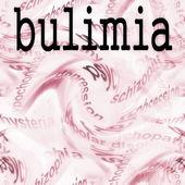 Concept bulimia — Stock Photo