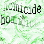 Concept homicide background — Stock Photo