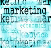 Concept marketing words background — Stock Photo