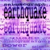 концепция землетрясения фон, текстура — Стоковое фото
