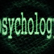 Stock Photo: Concept of psychology background