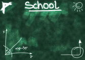 School Doodle background and texture — Stock Photo