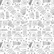 Doodles abstract pattern background — Stock Photo #27309897