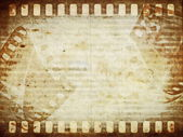 Old film roll background — Stock Photo