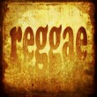 Stock Photo: Reggae word music background
