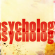 Stock Photo: Concept of psychology