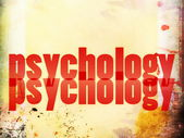 Concept of psychology — Stock Photo