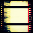 Grunge film strip frame background — Lizenzfreies Foto