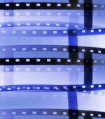 Film roll background — Stock Photo