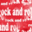 Concept Rock and roll word backgrounds and texture — Stock Photo