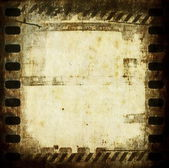 Old dirty grunge film strip background — Stock Photo