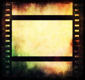Grunge film strip background — Stock Photo