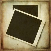 Old grunge blank photo frame background — Stock Photo