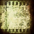 Abstract old doodle grunge, rusty, dirty film strip background, texture — Stock Photo