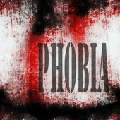 Concept phobia background — Stock Photo
