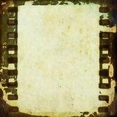 Alte Grunge-Film-Streifen-Hintergrund — Stockfoto