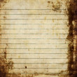 Stock Photo: Sheet of old, soiled paper background, grunge texture