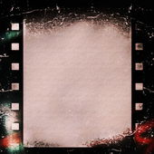 Old grunge film strip background — Stock fotografie