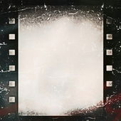 Old grunge film strip background — Zdjęcie stockowe