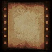 Old grunge film strip background — Photo