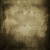 Sheet of old, soiled paper background, grunge texture — Stock Photo