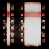 Grunge film strip background — 图库照片