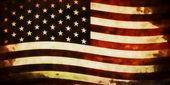 Old Grunge USA Flag — Stock Photo