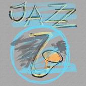 Music jazz grunge paper background, texture — Stock Photo