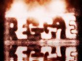 Reggae word music grunge background and texture — Stock Photo