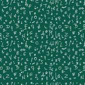 Plano de fundo, padrão e textura de doodle de escola — Fotografia Stock
