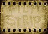 Film strip frame background — Stock Photo