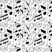 Musical notes seamless pattern — Stock Photo