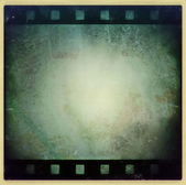 Grunge film strip frame background — Stock Photo