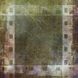 Old grunge film strip frame background — Stock Photo #48105753