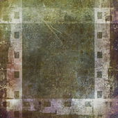 Gammal grunge film strip ram bakgrund — Stockfoto