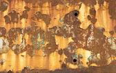 Peeling Paint and Rusty Metal — Stock Photo