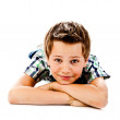 Stock Photo: Little boy