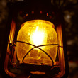 Illuminated lantern — Stock Photo