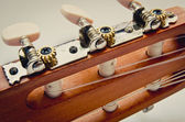 Guitar fingerboard — Stock Photo