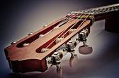 Gitarre griffbrett — Stockfoto