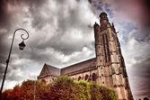 Igreja gótica — Foto Stock