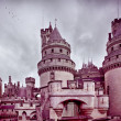 Chateau de pierrefonds — Stock Photo