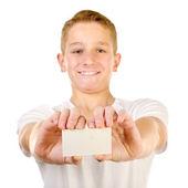 Ragazzo adolescente — Foto Stock