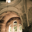 Old church indoors — Stock Photo #6318800