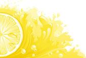 Citron freshness — Stock Vector