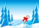 圣诞糖果棒 — 图库矢量图片