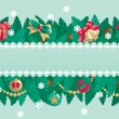 Christmas background with place for text — Stock Vector