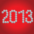 Royalty-Free Stock Vector Image: Happy New Year 2013!