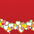 Royalty-Free Stock Vectorafbeeldingen: Valentine\'s day background